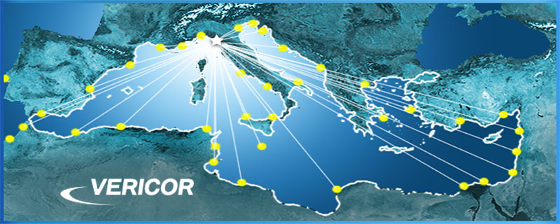 Authorized Service Center - Level I & II  Spare Parts Sales for VERICOR Gas Turbine Engines in the Mediterranean Area